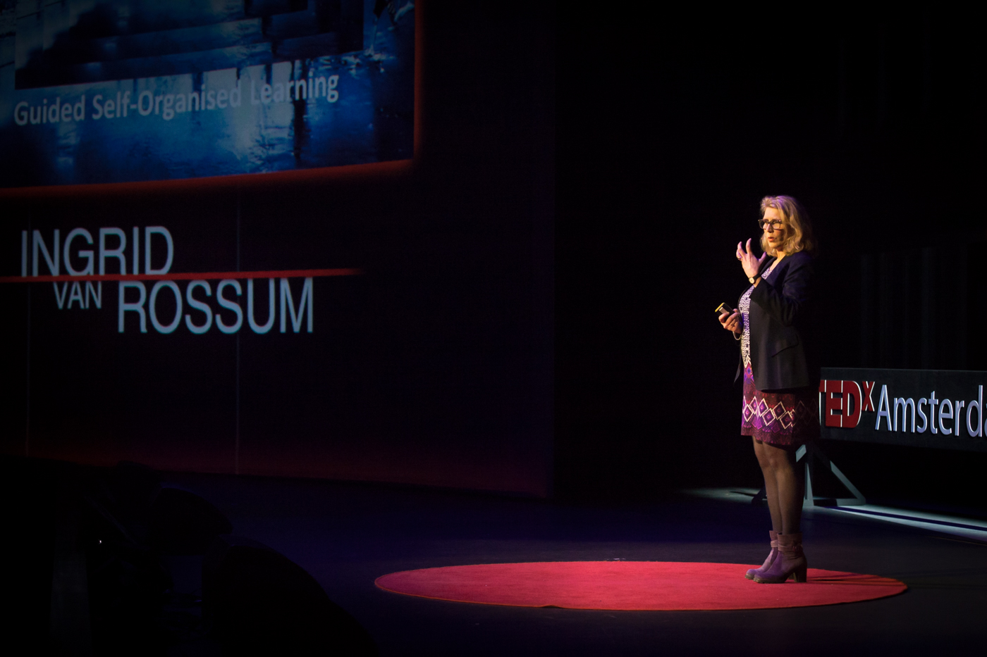 Ingrid van Rossum – Changing the face of education